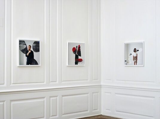 Thomas Dozol - Memory Recall Pattern, installation view