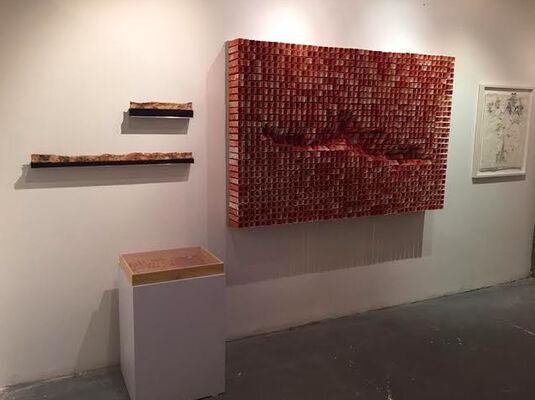 Galeria Otros 360º at Odeon, 2015 Contemporary Art Fair, installation view