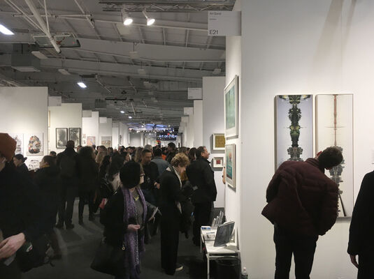 Art Bond NY at Art on Paper 2020, installation view