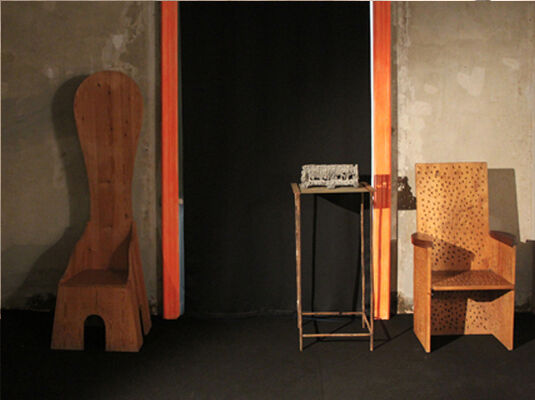 Exhibition at Erastudio Apartment Gallery, installation view