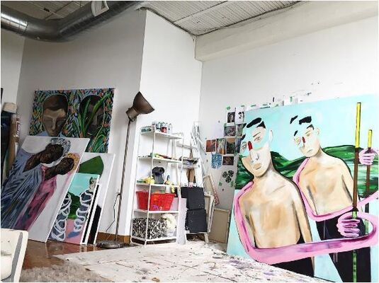Online Exclusive: From Erin Armstrong's Studio, installation view