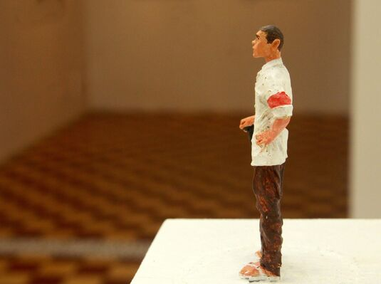 """Conversations with Nguyen Manh Hung """"Somewhere out There"""", installation view"""