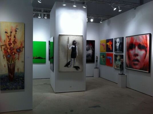 Artêria at CONTEXT Art Miami 2016, installation view