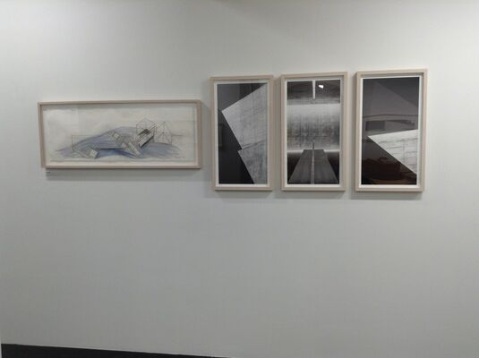 Tadao ANDO - Drawing, Photograph, Maquette, installation view