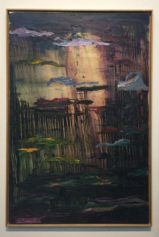 Benoît Maire, 'Peinture de nuages', 2016, Painting, Oil on canvas, Galerie Nathalie Obadia