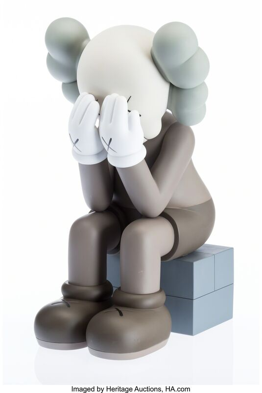 KAWS, 'Companion-Passing Through (Brown)', Other, Heritage Auctions