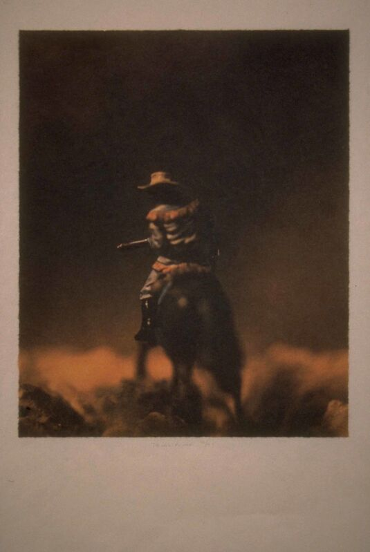 David Levinthal, 'untitled (from the Wild West II)', 1996, Print, Waterless lithograph, Richard Levy Gallery