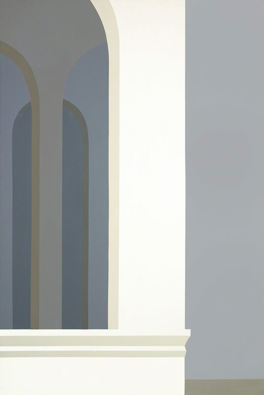Helen Lundeberg, 'Untitled (Classic Landscape)', 1973, Painting, Acrylic on canvas, Louis Stern Fine Arts