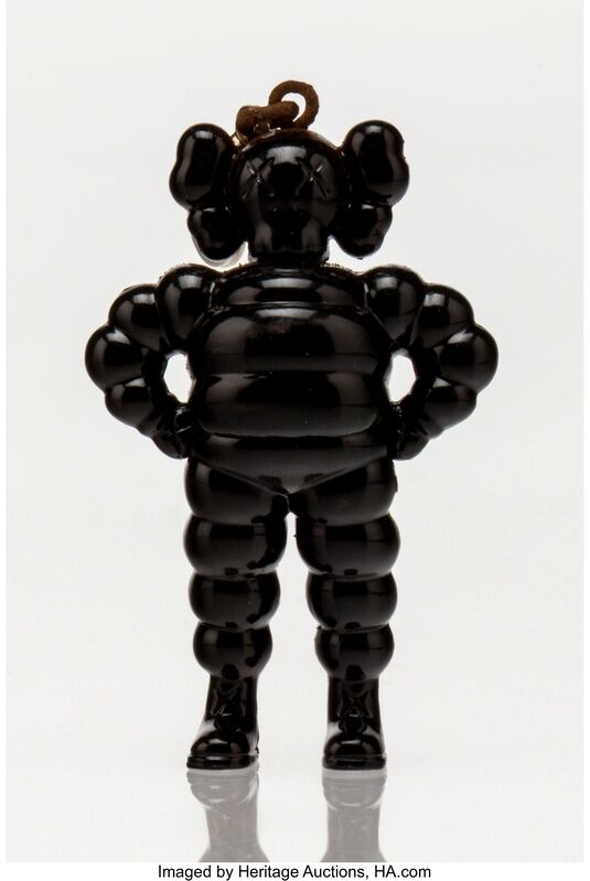 KAWS, 'Chum Keychain (Black)', 2009, Other, Painted cast vinyl, Heritage Auctions