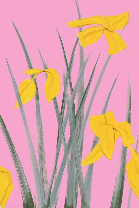 Alex Katz, 'Alex Katz, Yellow Flags 3', 2020, Print, Pigment print on fine art paper, Oliver Cole Gallery