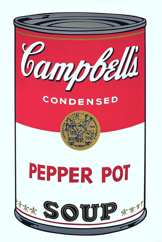 Andy Warhol, 'Campbell's Soup  I: Pepper Pot (FS II.51)', 1968, Print, Screenprint on Paper, Revolver Gallery