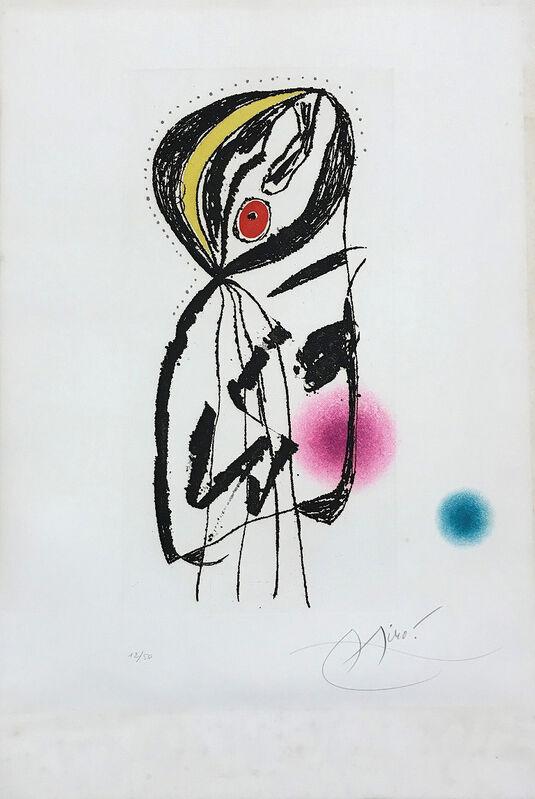 Joan Miró, 'La Paludéenne ', 1975, Print, Etching and aquatint on paper, Le Coin des Arts