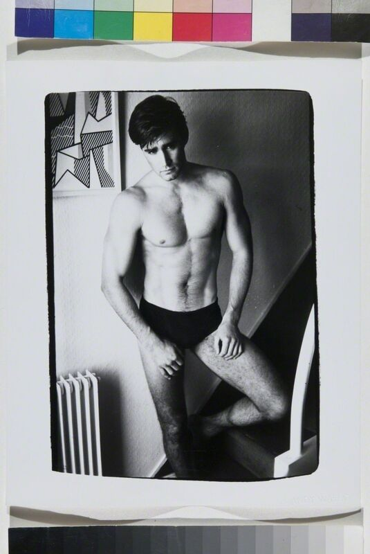 Andy Warhol, 'Debbie Harry / Fab Five Freddie', 1982, Photography, Silver Gelatin Print, Hedges Projects