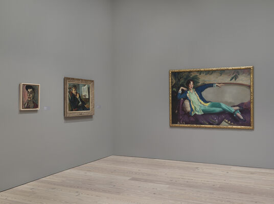Human Interest: Portraits from the Whitney's Collection, installation view