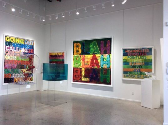 Mel Bochner, installation view