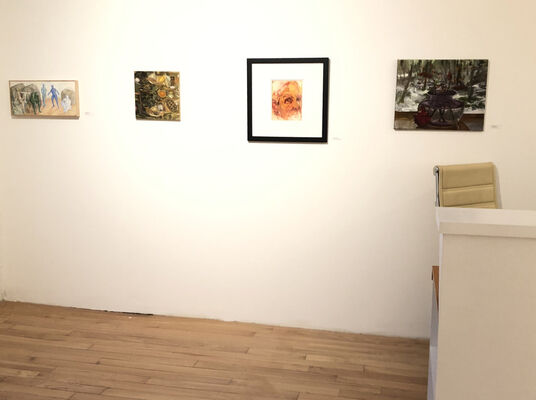NEW YEAR / NEW SPACE Blue Mountain Gallery Artists Inaugural Exhibition on 27th Street, installation view