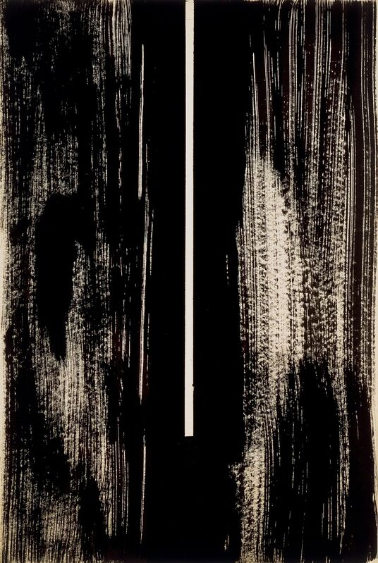 Barnett Newman, 'Untitled (The Cry)', 1946, Drawing, Collage or other Work on Paper, Ink on paper, MOCA
