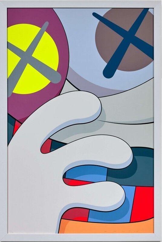 KAWS, 'Blame Game 2', 2014, Print, Screenprint, Vertu Fine Art