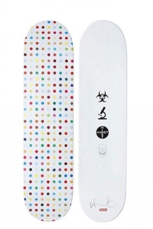 Damien Hirst, 'Spot Decks', 2009, Sculpture, Screenprint in colors on wooden skate decks, HOFA Gallery (House of Fine Art)
