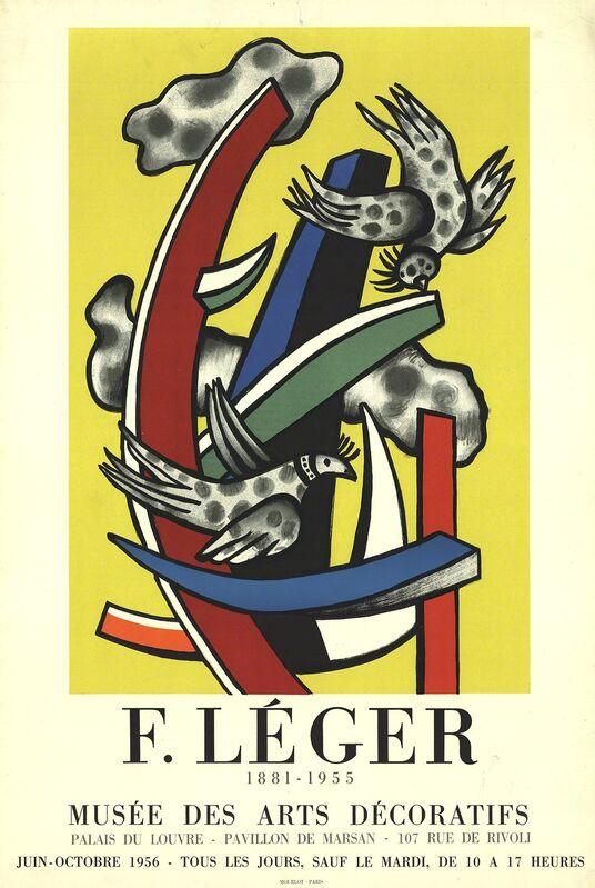 Fernand Léger, 'Musee Des Arts Decoratifs', 1956, Ephemera or Merchandise, Stone Lithograph, ArtWise