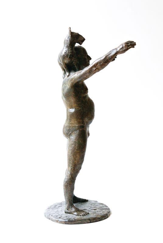 David Pellettier, 'Picasso, Speedo and Dog', 2006, Sculpture, Bronze, Newzones