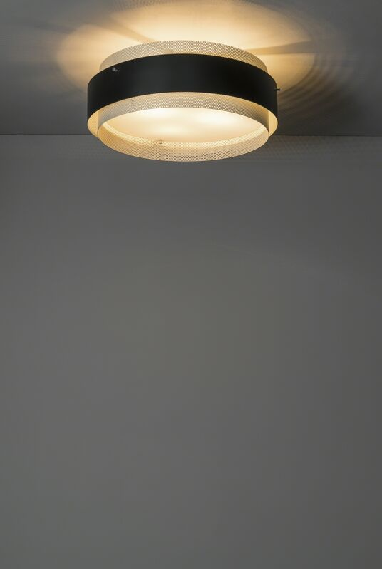 Jean Boris Lacroix, 'Ceiling light 310', 1959, Design/Decorative Art, Lacquered and punched metal, Perspex and golden bronze, Galerie Pascal Cuisinier
