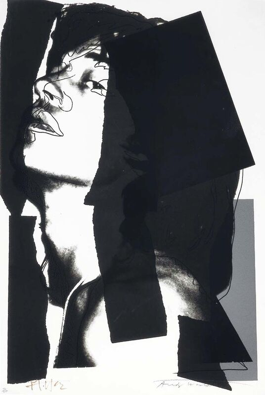 Andy Warhol, 'Mick Jagger II.144', 1975, Print, Screenprint on Arches Aquarelle paper, OSME Fine Art