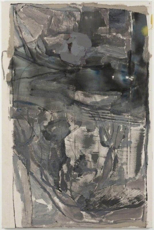 Varda Caivano, 'Untitled ', 2014-2015, Painting, Acrylic and charcoal on canvas, Tomio Koyama Gallery