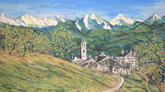 Lewis Pujol, 'Swiss Alpine Scene', 2016