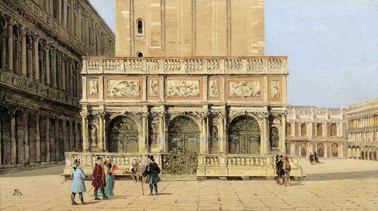 Antonietta Brandeis, 'The Loggetta of the Campanile of San Marco', 1900