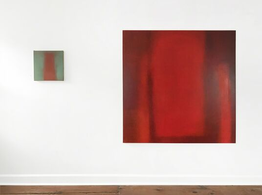 Louise Crandell: PAINTINGS with sound works selected by Andy Graydon, installation view