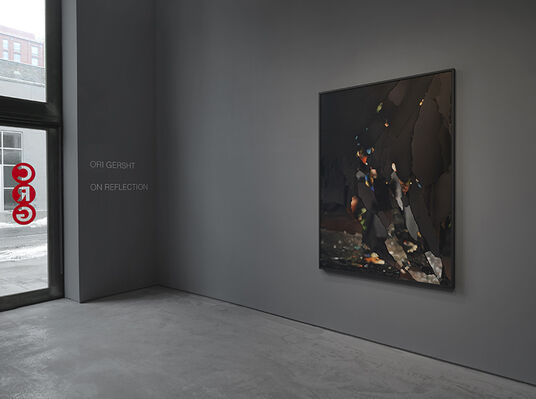 Ori Gersht - On Reflection, installation view