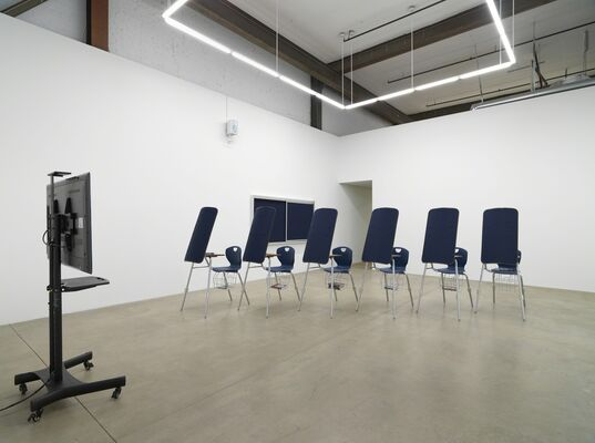 I'm Blue (If I Was █████ I Would Die), installation view