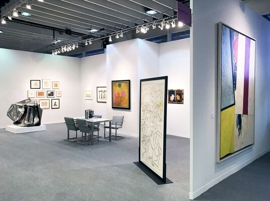 Allan Stone Projects at The Armory Show 2017, installation view