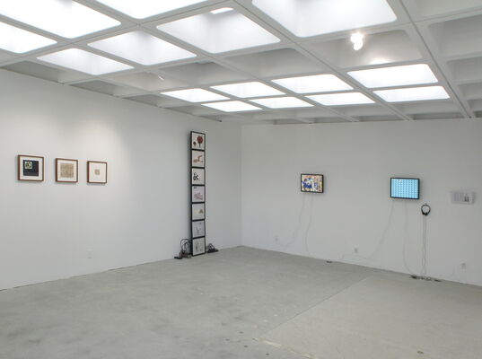 Show #26: Group/recap show, installation view