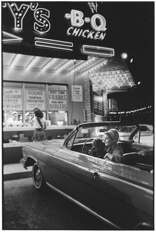 Elliott Erwitt, 'Miami Beach, Florida, USA', 1962, Photography, Gelatin silver print, Jackson Fine Art