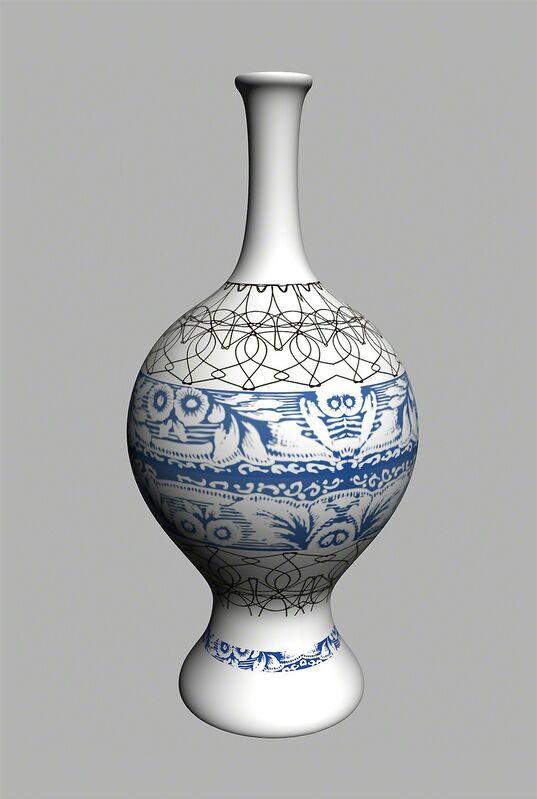 Yi Zhou, 'Abstract Greek Vase', 2013, Design/Decorative Art, Porcelain vase, Pearl Lam Galleries
