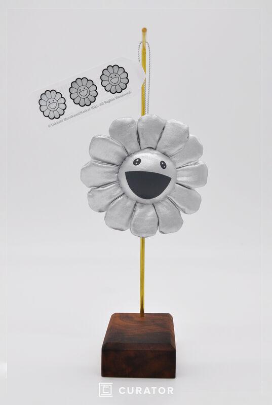 Takashi Murakami, 'Flower Pin (Silver)', 2010-2019, Design/Decorative Art, Plush Toy, Curator Style
