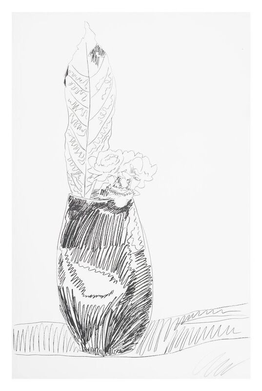 Andy Warhol, 'Flower (Black & White)', 1974, Print, Original screenprint in black & white on Arches J. Green paper, michael lisi / contemporary art