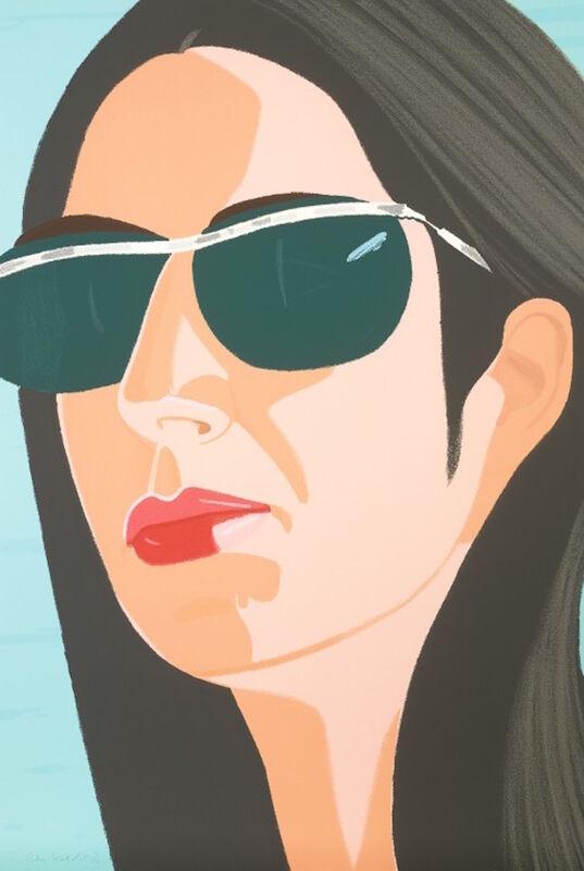 Alex Katz, 'Ada with Sunglasses (Alex and Ada, the 1960's to the 1980's Suite)', 1990, Print, Screenprint, Gregg Shienbaum Fine Art
