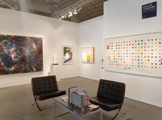 Hollis Taggart Galleries at EXPO CHICAGO 2017, installation view