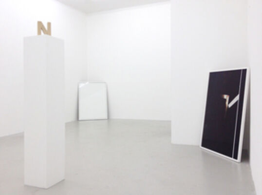 NOTHING COMES FROM NOTHING, installation view