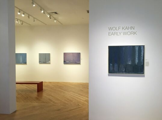 WOLF KAHN: EARLY WORK, installation view