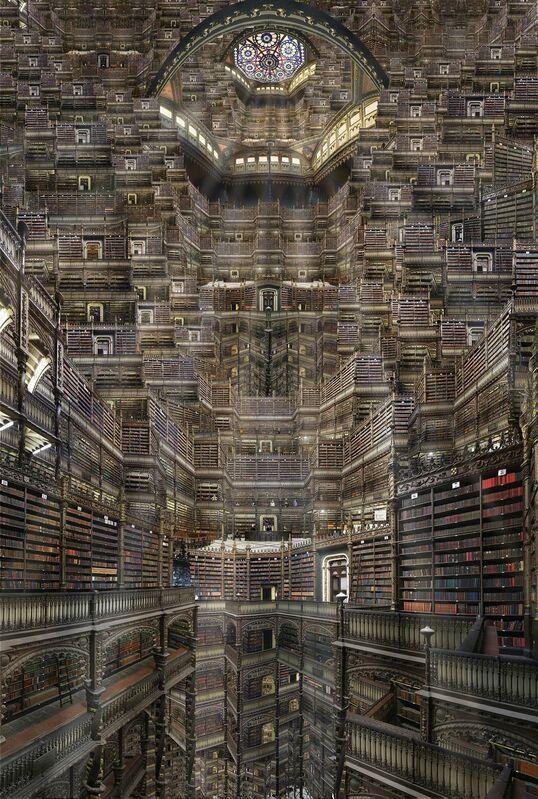 Jean-François Rauzier, 'Real Cabinete', 2015, Photography, Hyperphotography on dibond, Villa del Arte Galleries