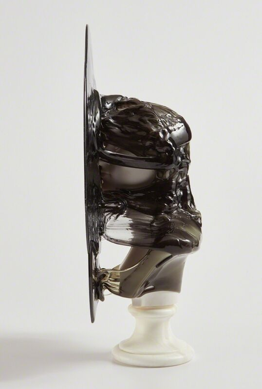 Nick van Woert, 'Damnatio Memoriae (black)', 2011, Sculpture, Fiberglass statue and polyurethane, Phillips