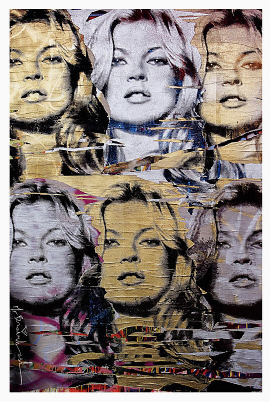 Mr. Brainwash, 'Kate Moss (multiple), Signed', 2008, Print, Offset Lithograph on Paper, The Untitled Space