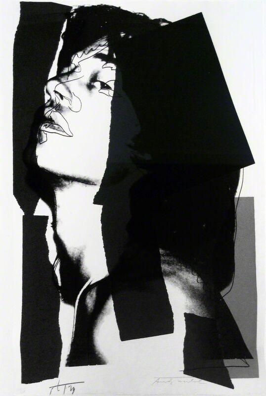 Andy Warhol, 'Mick Jagger [II.144]', 1975, Print, Screenprint, Soho Contemporary Art