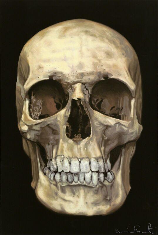 Damien Hirst, 'The Skull Beneath the Skin', 2005, Print, Silkscreen with diamond dust on Somerset satin 410gsm, Paul Stolper Gallery