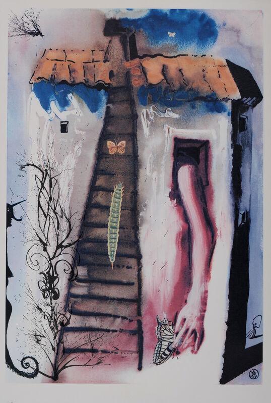"Salvador Dalí, 'Rabbit Sends in a Little Bill', 1969, Print, Woodcut & heliogravure on ""de Mandeure paper"", NCAG"