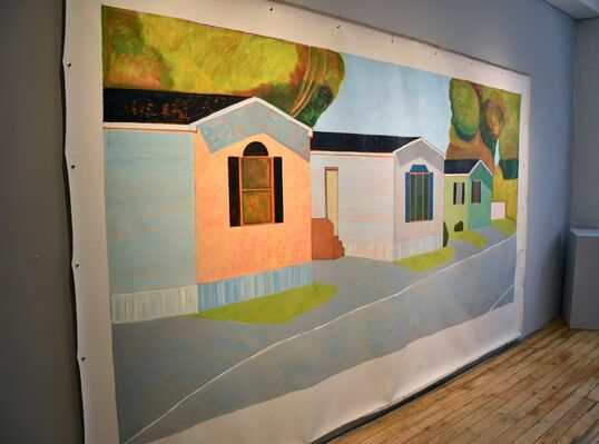 On the Wall: Adrianne Lobel, installation view